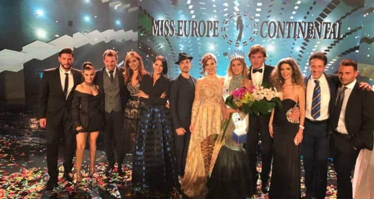 Sabato 24 novembre si è tenuta la finalissima internazionale di Miss Europe Continental 2018 vinta da Araceli del Cont, dalla Bosnia.