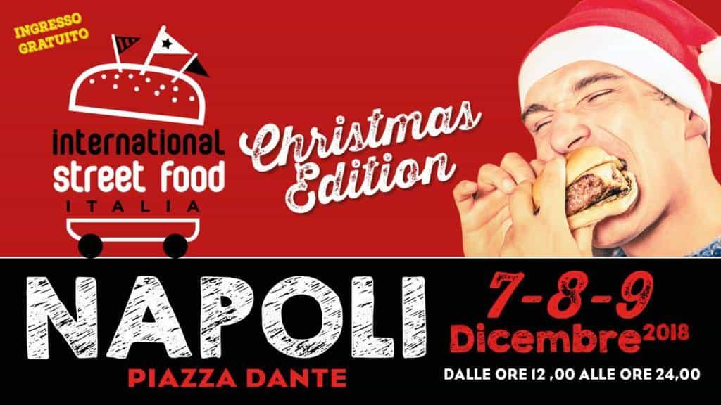 Nei giorni 7, 8 e 9 Dicembre 2018, in Piazza Dante, grande festa del cibo da strada con ben 30 Food Truck. Degustazioni ed eventi natalizi.