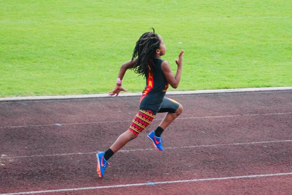 Se il piccolo Rudolph e Usain Bolt partissero insieme, il velocista giamaicano vincerebbe solo con 40 metri di differenza.