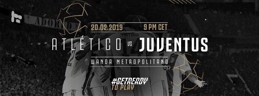 Atletico Madrid vs Juventus: domani le due squadre si affronteranno per giocarsi la qualificazione ai quarti: forma, dati ed altre curiosità.