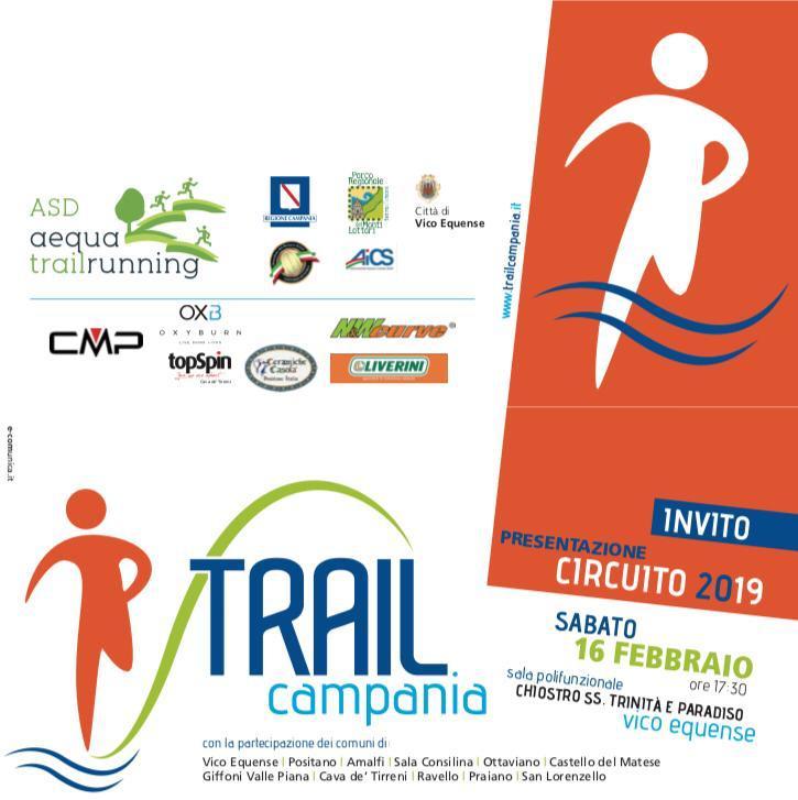 Presentato il calendario del Circuito Trail Campania 2019 - Quindici le tappe previste per questa nona edizione - Tutte le date