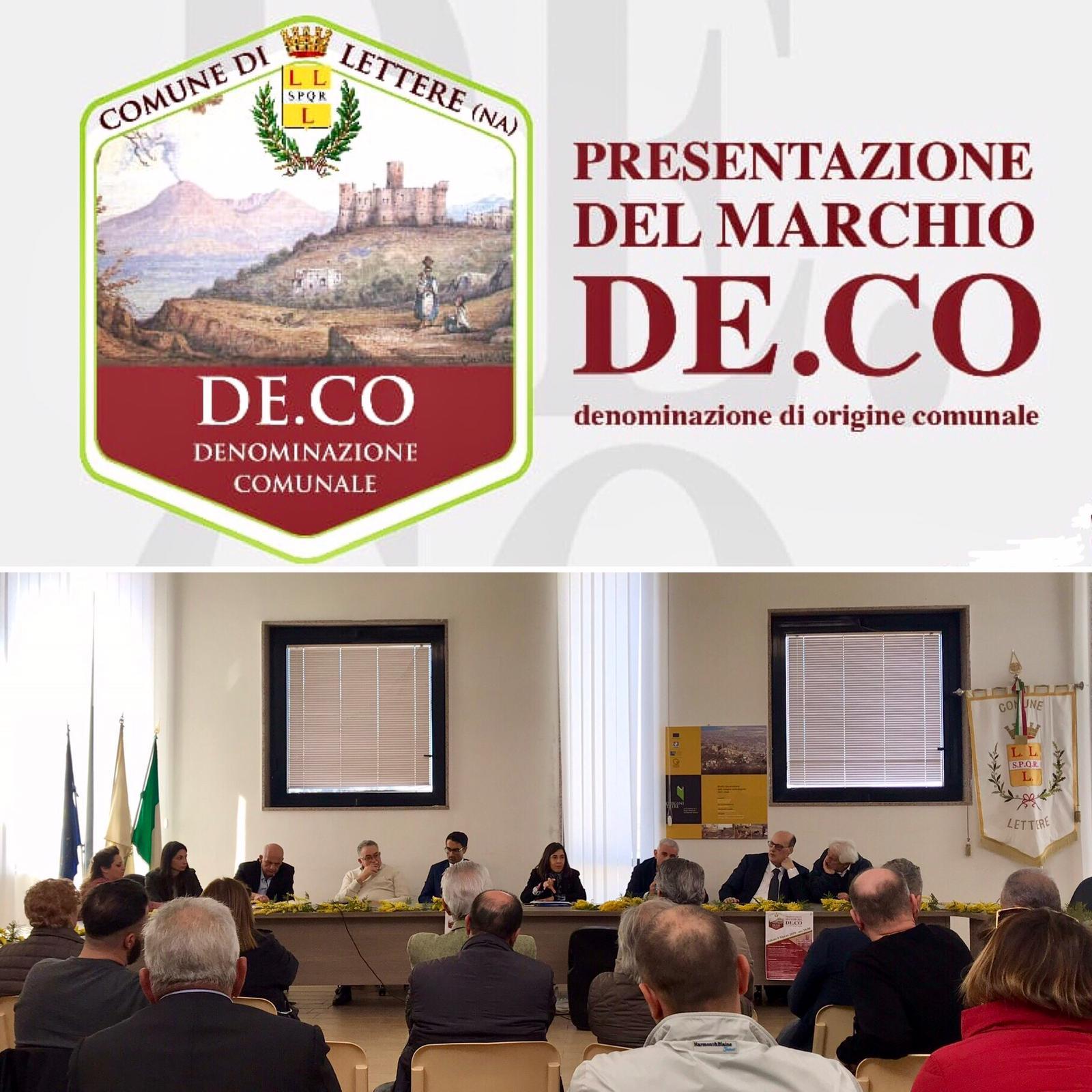 Il Comune di Lettere istituisce il marchio De.Co, la Denominazione Comunale di Origine a difesa dei prodotti del territorio.