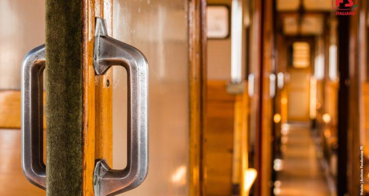 Viaggi per tutta la famiglia a bordo di un treno storico con carrozze degli anni '30 e degli anni '50, lungo splendide località archeologiche