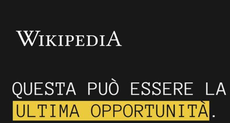 La versione italiana di Wikipedia è stata già oscurata in vista del voto sulla riforma del copyright previsto per domani 26 marzo.