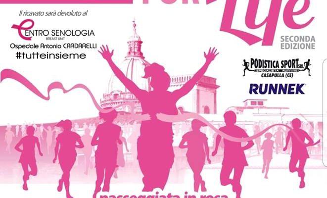 """Quella contro il cancro al seno è una battaglia che si può vincere vincere.E' questo il messaggio che la """"Rafe for life"""""""