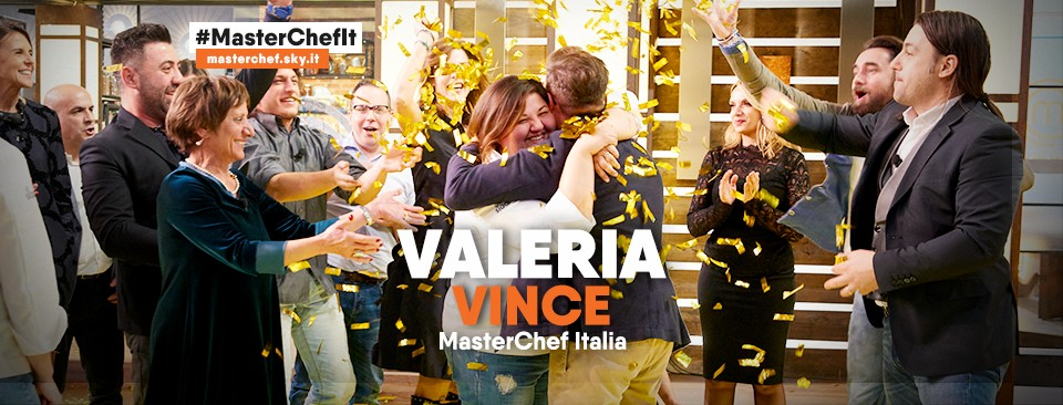 Valeria Raciti batte Gilberto e Gloria e si aggiudica il titolo di MasterChef 2019, il premio da 100.000,00 euro e la pubblicazione del libro