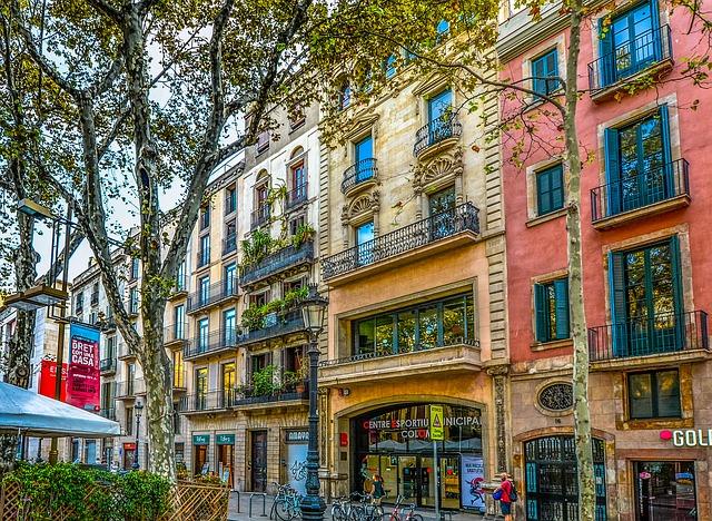 Barcellona, itinerario alternativo