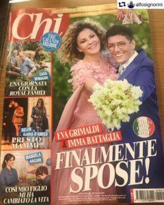 Eva Grinaldi e Imma Battaglia spose