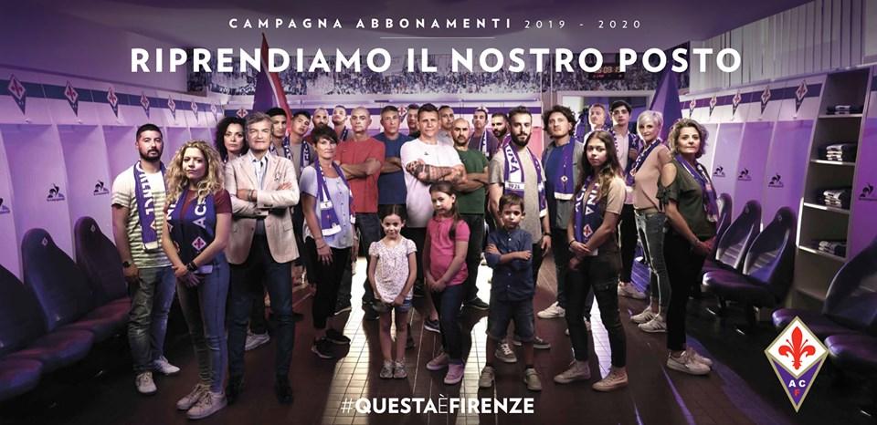Stamattina alle ore 10:00 è iniziata la campagna abbonamenti della Fiorentina per la nuova stagione 2019/2020.