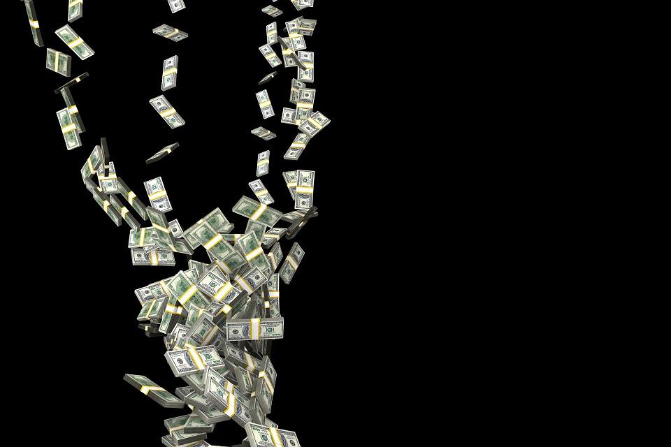 USA soldi dal cielo