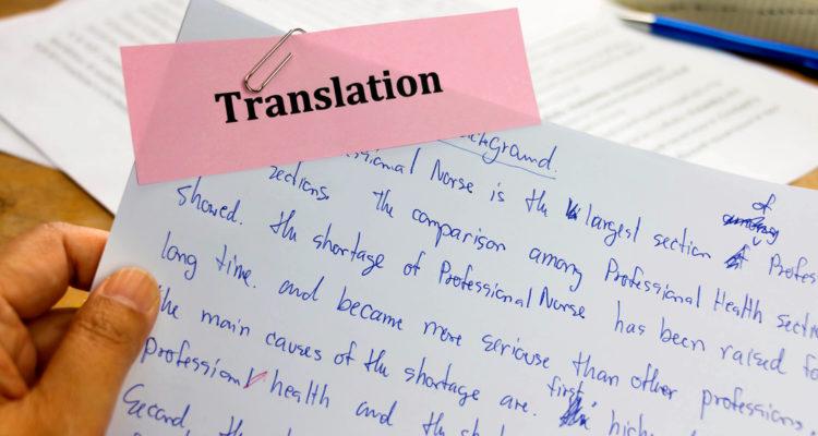 Proofreading di traduzione