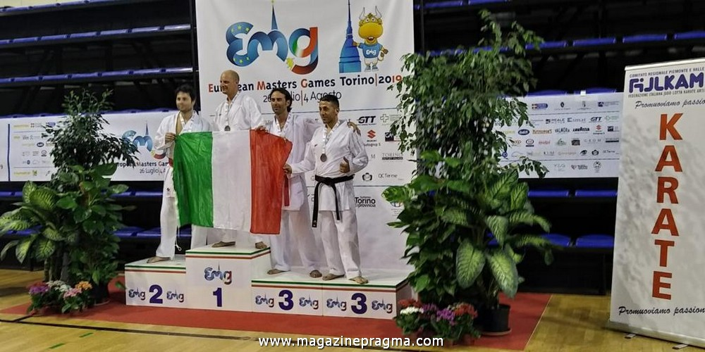 Antonio Pescina, karateka di Lettere, ci racconta la sua avventura agli European Masters Games e la passione per il Karate e le arti marziali