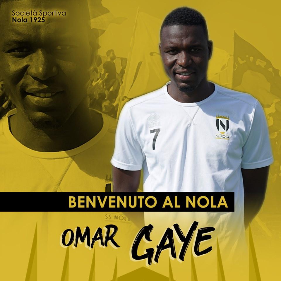 Omar Gaye Calciatore