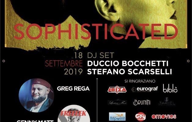 """""""Sophisticated"""", in programma il 18 settembre al Post Aperitif Club, tornano le serate """"Colour inside"""", promosse da Simona Tagliaferri"""