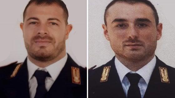 tributo agli agenti uccisi