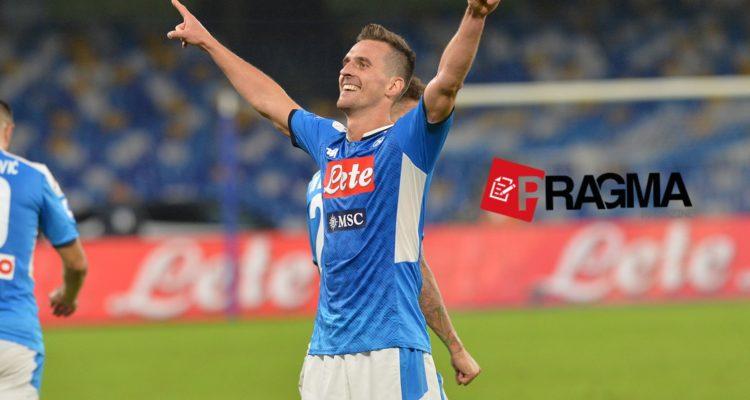 Napoli-Atalanta del 30 ottobre 2019 Milik