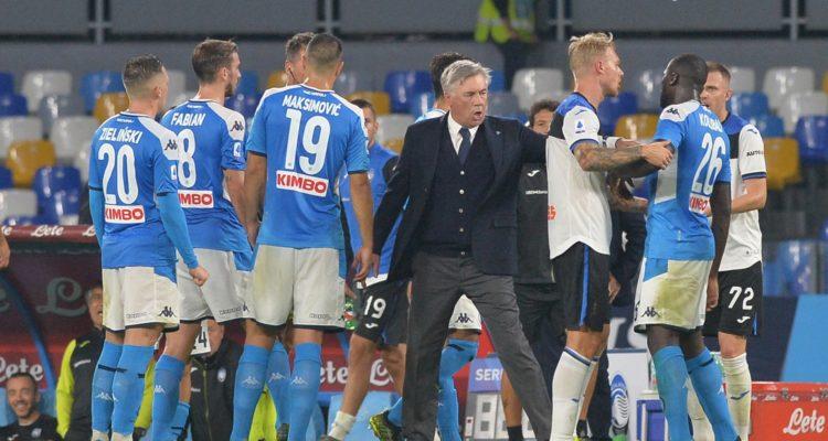 Napoli-Atalanta del 30 ottobre 2019 si sta giocando ancora. E si giocherà ancora per tanto. Ecco le foto di un bel match, fino a quando...