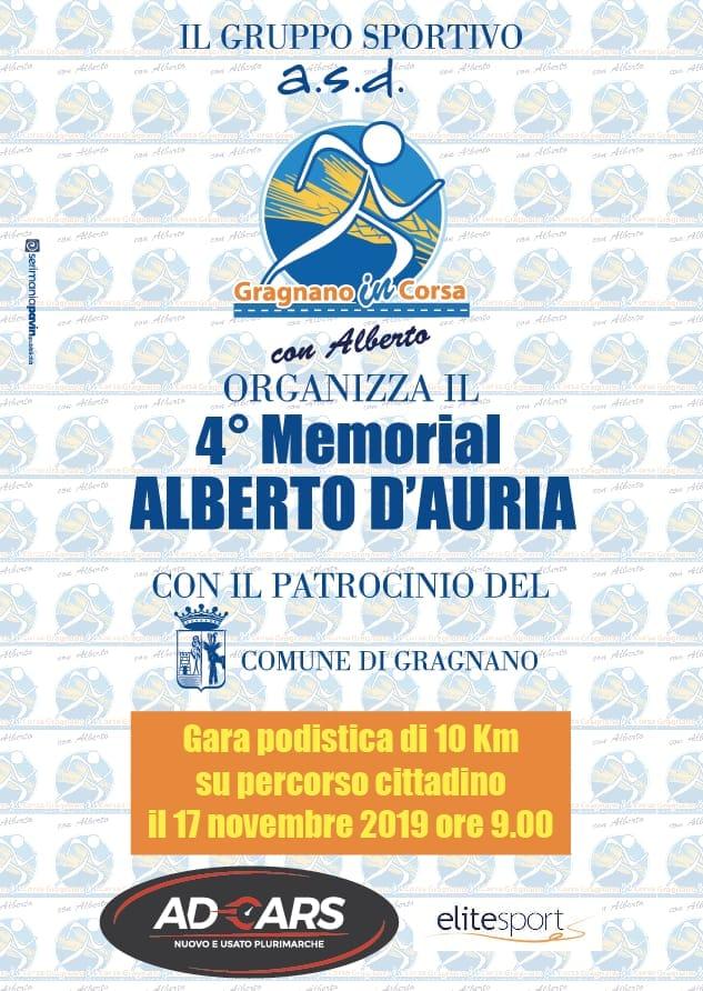 Memorial Alberto D'Auria 2019
