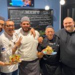 Chef De Feo con Chef Negri in visita al Mediterraneo a Pompei