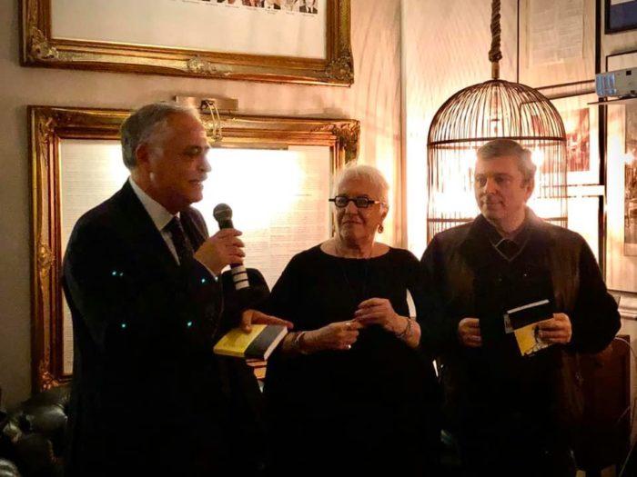 Presentato il nuovo libro di Lady Ghost alias la giornalista Anna Maria Ghedina, questo è il primo libro della saga MYLORD