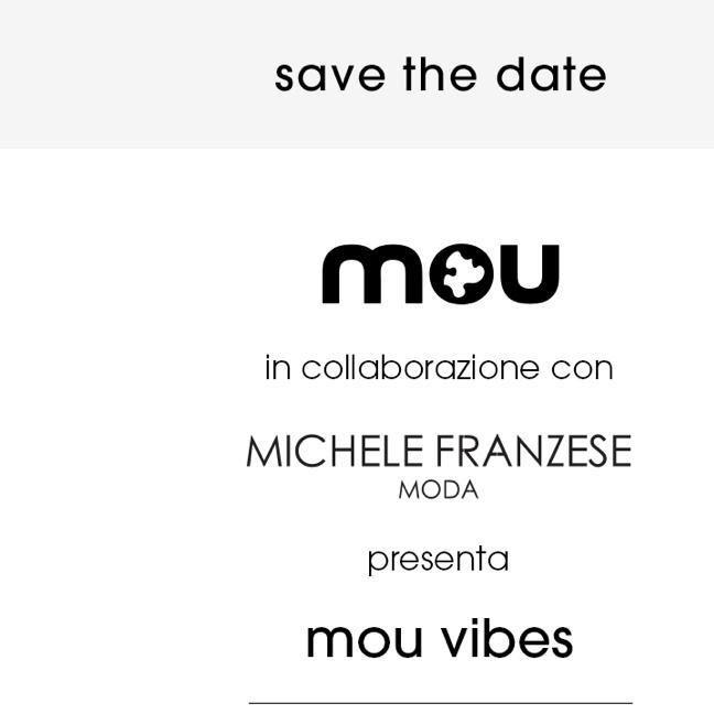 Michele Franzese presenta nella sede di Sant'Anastasia la nuova collezione Mou Vibes, un cocktail party e numerosi ospiti