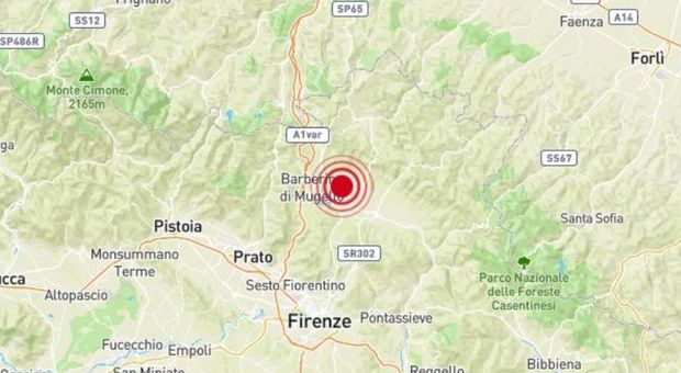 Terremoto Toscana