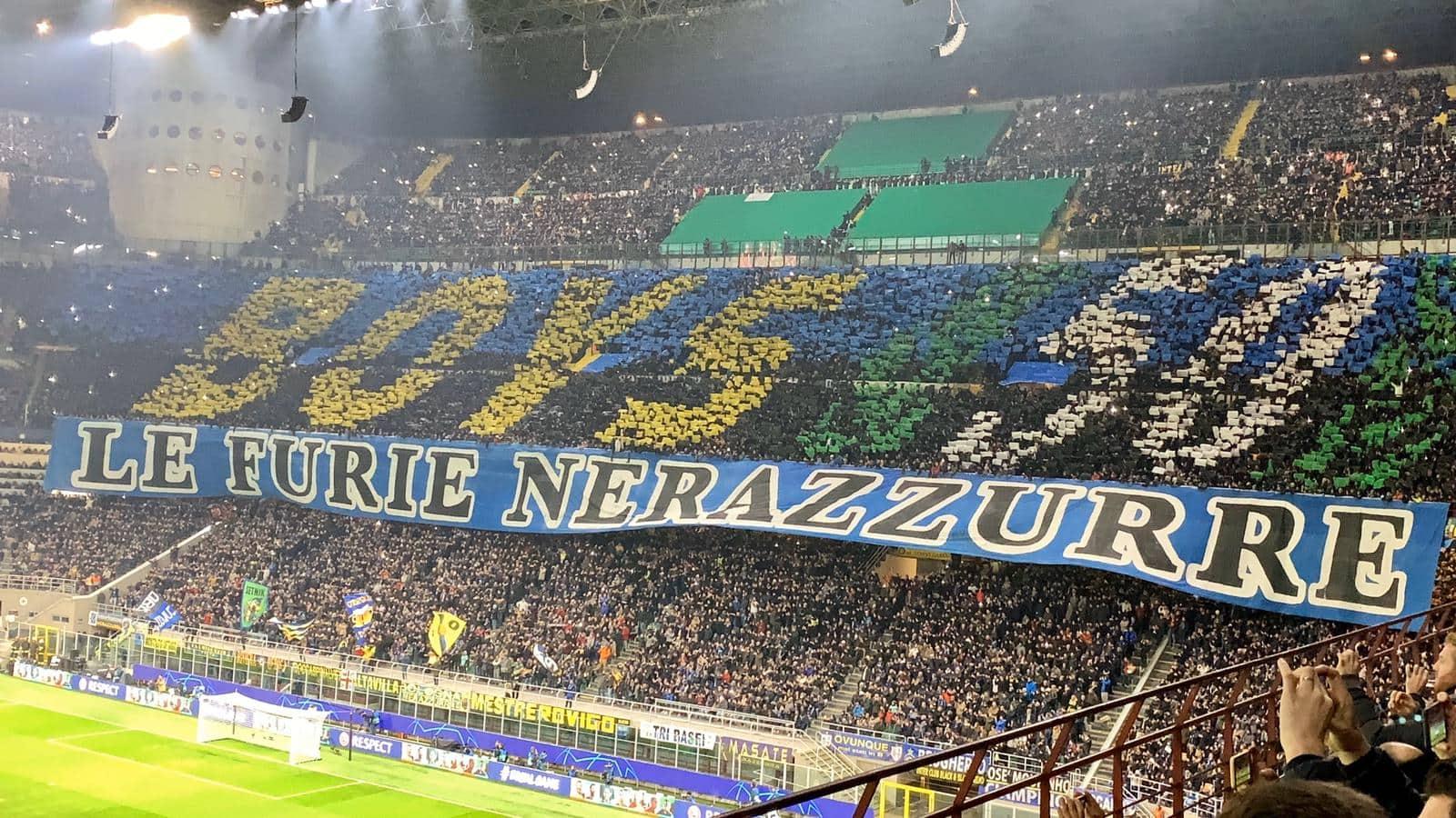 L'Inter non approfitta delle assenze del Barcellona e perde in casa per 1-2. Neroazzurri fuori dalla Champions League.