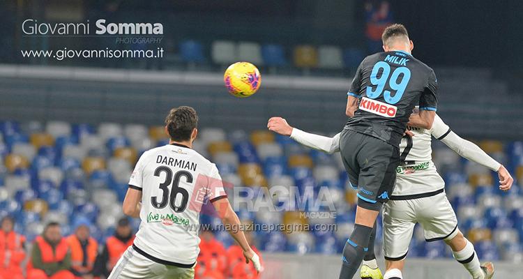 Napoli-Parma 1-2 serie a 2019-2020 6