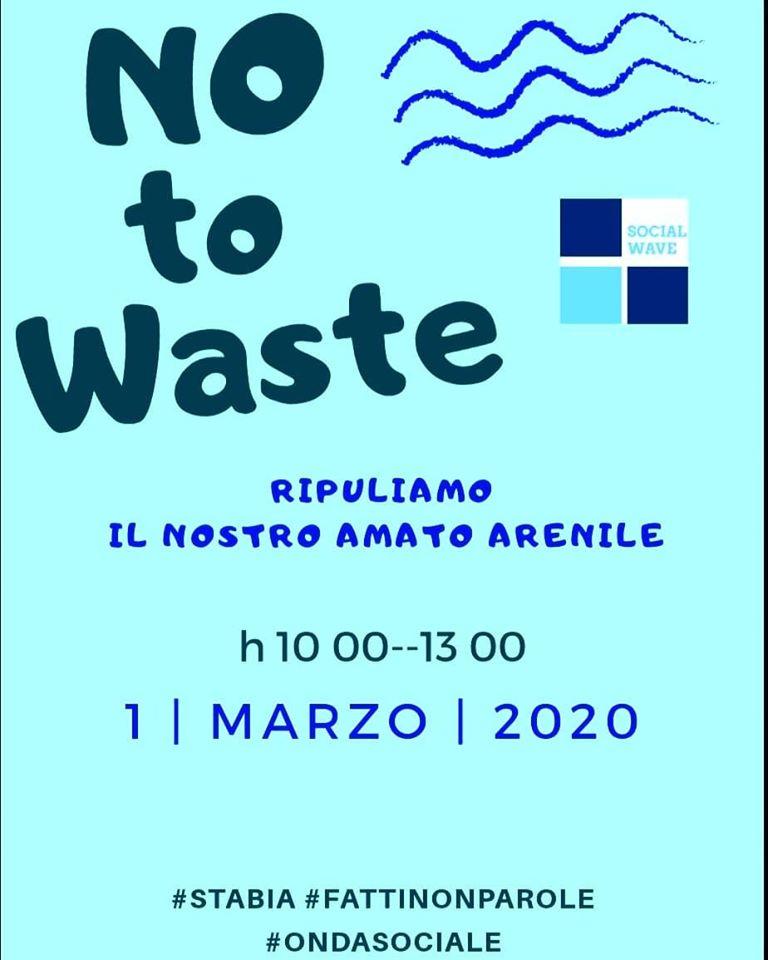 No to waste