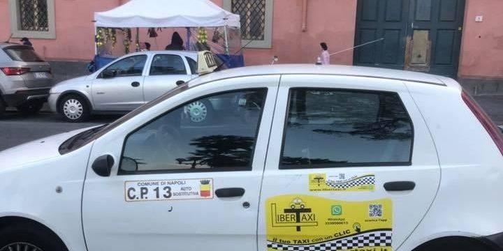 Martedì 3 marzo, i taxisti napoletani si offrono di accompagnare e riportare a casa i donatori che prenoteranno attarverso l'app LiberTaxi
