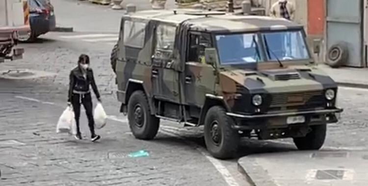 esercito in Campania