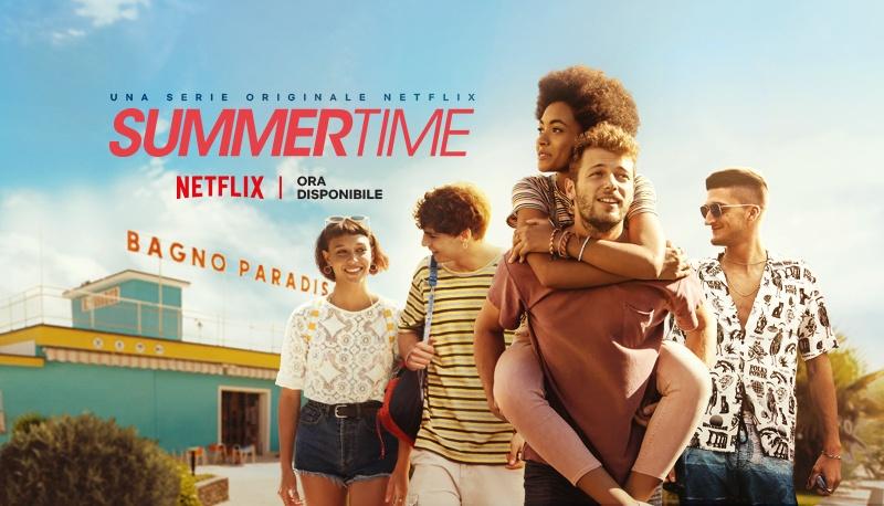 L'estate arriva in anticipo su Netflix con la serie tv Summertime, ambientata nella Riviera Romagnola, e online dal 29 aprile.