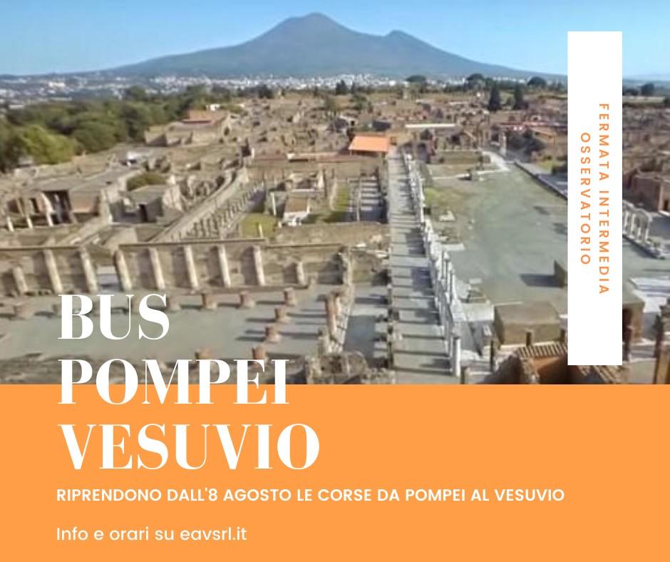 EAV Collegamento Pompei-Vesuvio