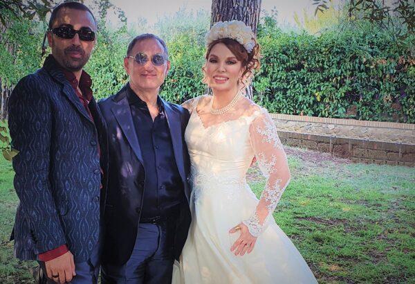 Si è sposata la storica voce di Ariel, l'attrice Simona Patitucci; il fortunato consorte è Padraig O' Broin. Per l'occasione si sono radunati