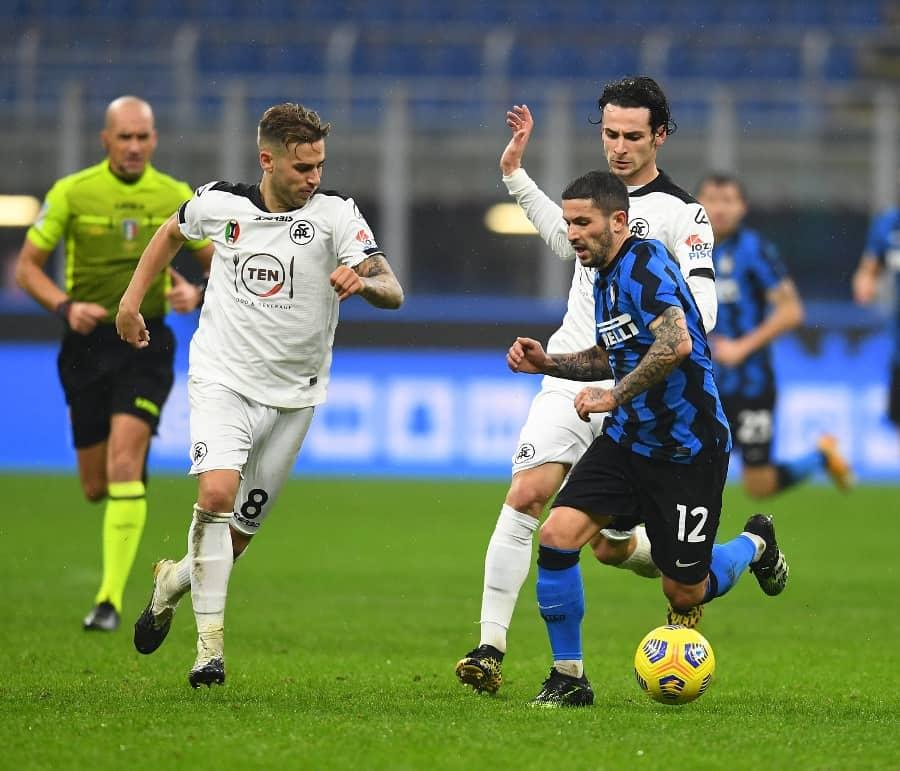 Inter-Spezia 2-1