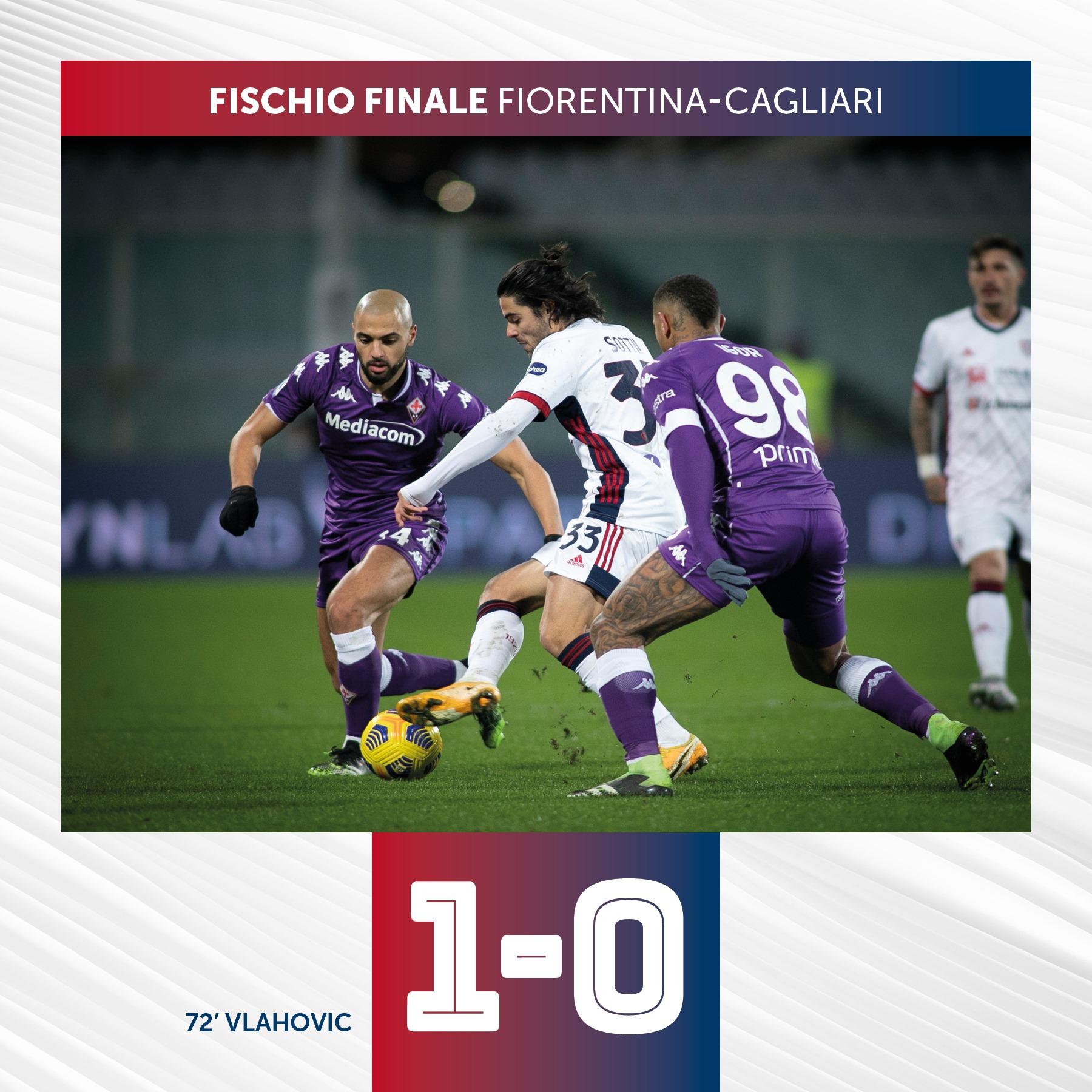 Cagliari disastroso, quarta sconfitta consecutiva